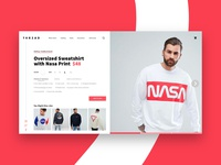 Split Page Product Showcase