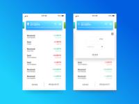 Quick Crypto Transaction Screens