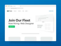Now Hiring - Web Designer