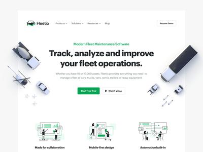 Fleetio Site Revamp
