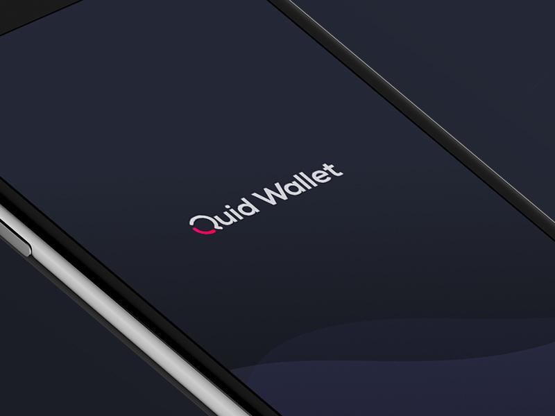Quid Wallet Logo Concept quidwallet cryptocurrency cryptowallet finance quid