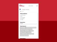 Work in culture – recruitment website   interaction