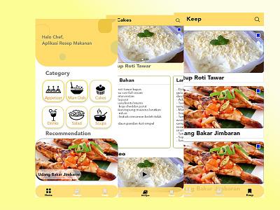recipe apps design app ux mobile ui design beginner