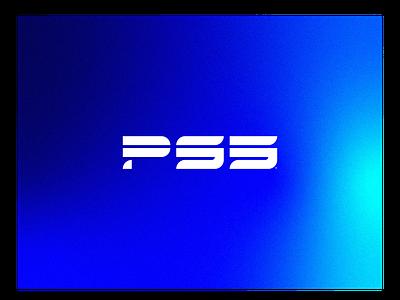 PS5 Logo typography vector illustration branding design icon monogram logo
