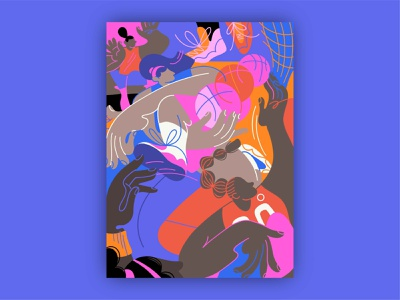 Portland Monthly — WNBA basketball player basketball court sneaker jersey sport gesture editorial team basketball women people hands figure drawing ipad pro apple pencil woman character illustration