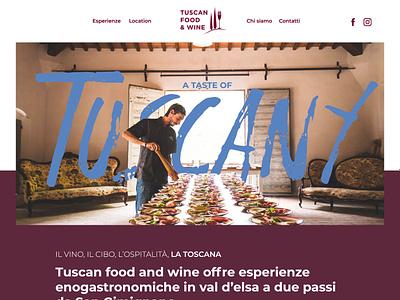 Tuscan food and wine farm design webdesign logo illustration balloon siena organic tuscany chianti