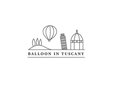 Balloon in Tuscany logo balloon logo