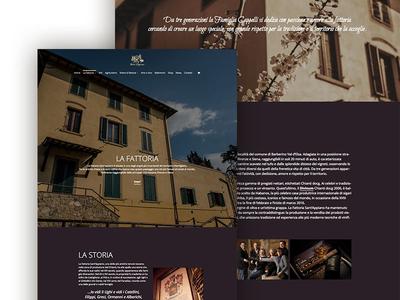 Sant'Appiano Farm website web design chianti italy farm wine