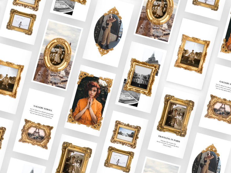 Made Gold Frame Instagram Story Templates templates template builder template design template app template story templates story stories made app instagram template instagram stories instagram graphic design