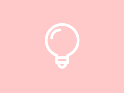 Tutorials Light bulb Icon