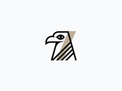 Hawk + 7 brand identity branding logo logotype bird flight aviation symbol
