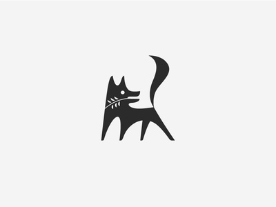 Twig & Fox fox logo brand branding mark identity nature england animal logotype i