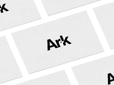 Ark collaterals branding brand iconic icon logotype businesscards identity design logo