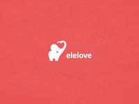 Elelove mark + typeface