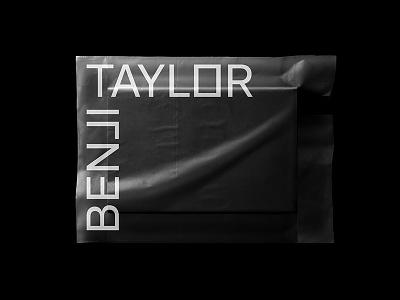 Benji Taylor typograpy dynamic symbol logo identitydesign branding identity brand