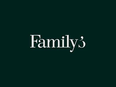 Family's familys symbol branding logodesign logo wordmark calligraphy typography