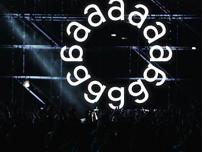 AlunaGeorge music symbol logomark brand and identity branding brand brandmark logotype logo alunageorge