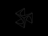 Arches identity logotype impossible infinite symbol brandmark branding logo