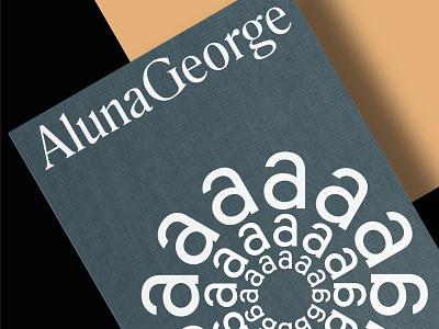 AlunaGeorge - Mark application brand symbol logotypes logotype identity brandmark branding alunageorge