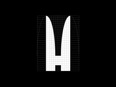 Hamilton and Hare - Grid brand and identity symbol branding brandmark logo logodesign grid hare hamilton rabbit