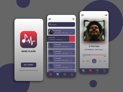 player music app music app ui kit player mobile ux ui design