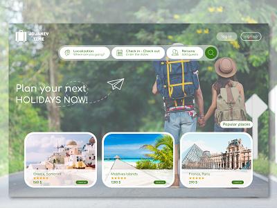 journey time travel web design web website webdesign desktop app ux ui logo design