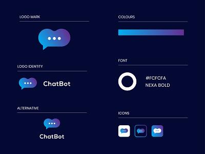 ChatBot logo bot logo logo design chatbot logo message chat logo chat social bot chat social icon businesslogo corporatelogo brandmark branding gradientlogo appicon chat app chatbot modern logo logo