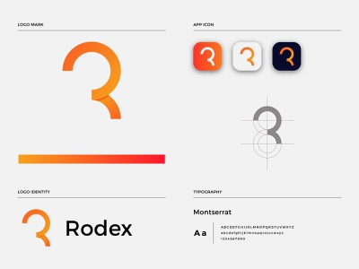 R modern logo logos r gradient logo logotype r typography r letter logo illustration typography logo design gradientlogo appicon icon businesslogo brandmark branding logodesign logo