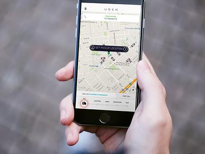 Uber Emergency (Concept) rebound ios concept emergency ambulance uber