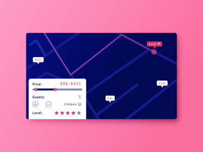DailyUI #020 travel self card map 020 dailyui tracker location