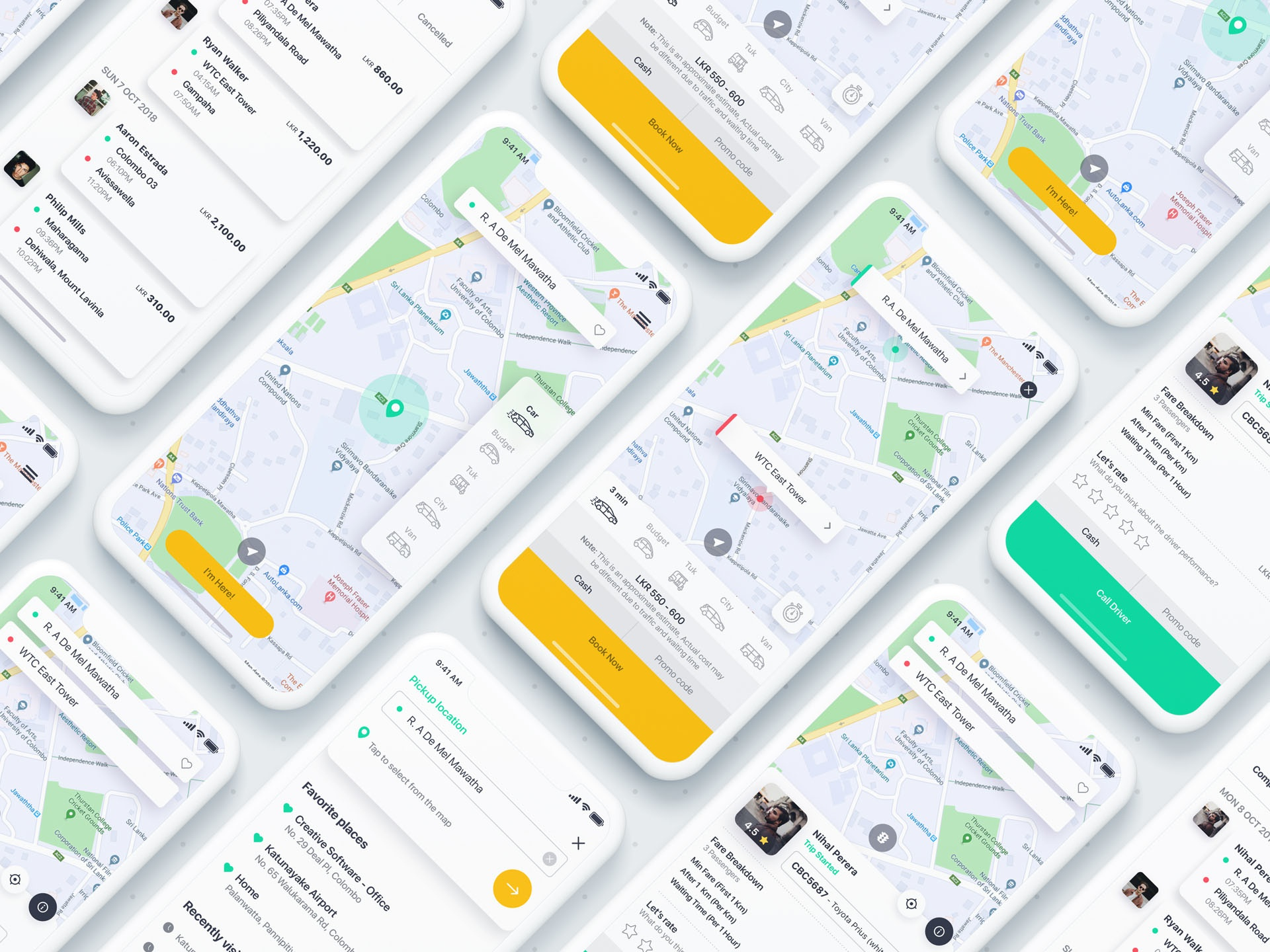 Taxi booking app cover