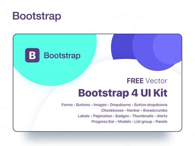 Bootstrap 4 GUI
