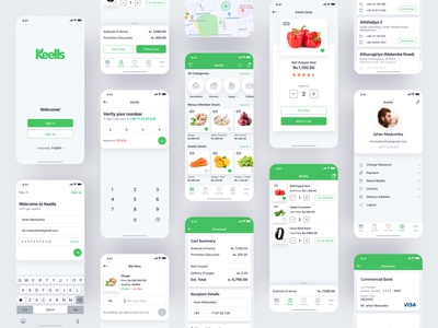 Groceries Shopping App