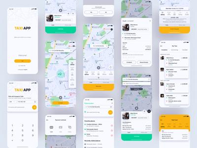 Taxi Booking App (Full App)