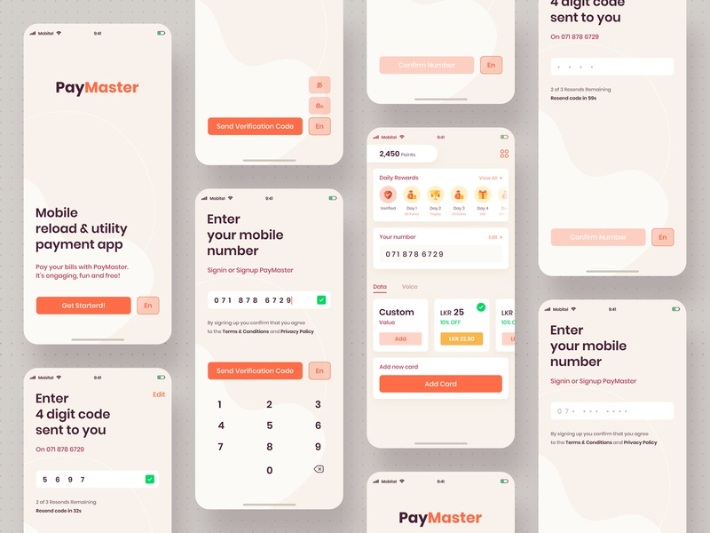 Paymaster App apple design iphone x mobile ui design dribbble inspiration ios mockup mobile app app concept user interface userinterface ux ui