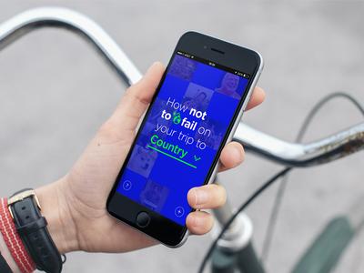 Travel Fails App fail tourist travel mobile ios app