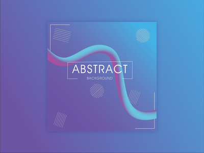 Abstract Poster design poster graphic design