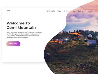 Travelling website design travelling website website design web-design ux ui design
