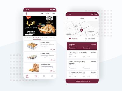 Shawarmer Food Tech App web app web app design food app app mobile app development mobile mobile app design