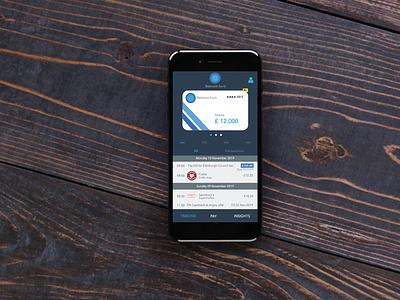 """Belmont bank"" banking mobile app prototype axure sketch app designer ui design ux design mobile app banking mobile app"