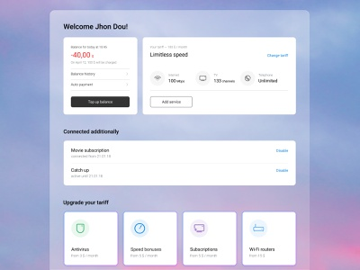User Account user user experience user interface design web ui ux