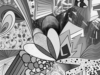 """""""Convergence"""" - digital illustration digital illustrator digital art digital doodleart doodle illustration art dance illustration designer design art design artwork artist art direction art"""