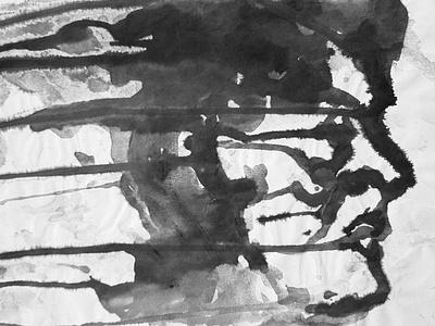 The Face - watercolor/ink drawing portrait portraitart illustration watercolors watercolor artwork artist art direction art