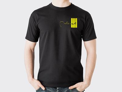 Black t shart Signature muhammad vector logo illustration t shirt design t shirt icon branding