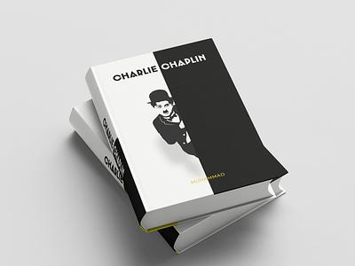 charli chaplin Book Mockup vector typography logo branding book cover design