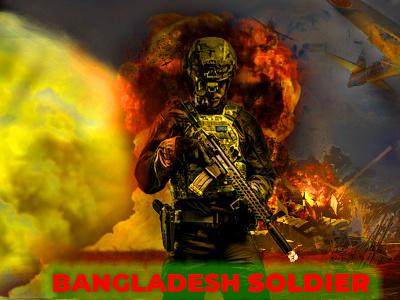 BANGLADESH SOLDIER vector book cover design design illustration t shirt design t shirt typography logo icon branding