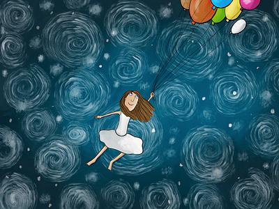 Dream paintings dream ilustration
