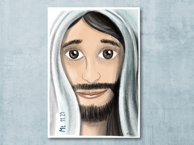Jesus love christian faith jesus ilustration