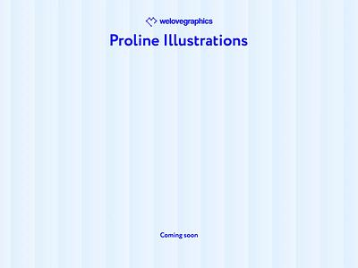 Proline figma comingsoon coming vector line illustrations