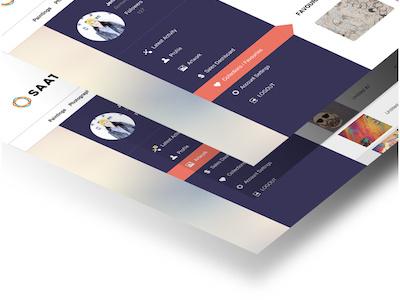 Dashboard Redesign brand design usability visual design ui ux saatchi art redesign dashboard